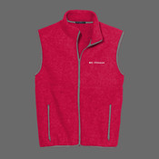 Body Coach Fitness R Tek Men's Fleece Vest - R Tek ® Fleece Vest