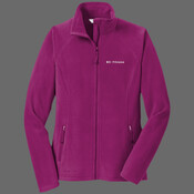 Body Coach Fitness Ladies Micro Fibre Fleece - Ladies Full Zip Microfleece Jacket