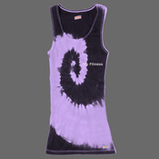 Body Coach Fitness Ladies Tie-Dye Vest top - 100% Cotton Adult Soffe Tank Tops